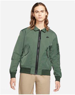 Nike sportswear bomber jacket 飛行員夾克外套 CZ9895-337。太陽選物社