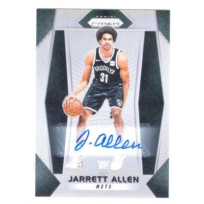 銀亮!(RC) Jarrett Allen 漲值保證Prizm Silver Rookie系列銀亮新人RC金屬簽名卡 2017-18 Autograph