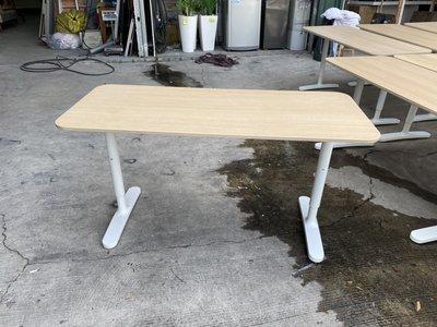 [年強二手傢俱] IKEA工作桌 140*60電腦桌 書桌 升降桌 辦公桌 事務桌 業務桌 11014229 數量5