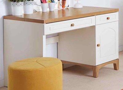 【森可家居】英式小屋書桌(不含椅) 8JX339-4 辦公桌