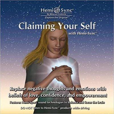 [心靈之音] 取回完整自我Claim Your Self-美國孟羅Hemi-Sync雙腦同步CD英語口述引導-拆封福利品