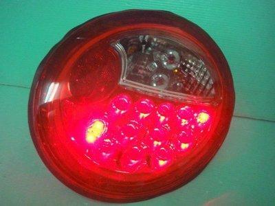 ☆小傑車燈家族☆全新VW 福斯金龜車 BEETLE 紅白晶鑽LED尾燈