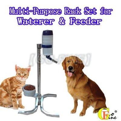 夠好 立可吸- QLFT-32鋼棒氣閥水瓶 專利寵物飲水瓶架 貓狗餐具架 可調高度 瓶960cc 美國品牌LIXIT