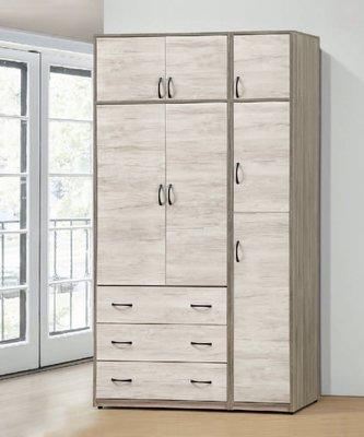 【南洋風休閒傢俱】精選時尚衣櫥 衣櫃 置物櫃 拉門櫃 造型櫃設計櫃-艾妮雅4.3*7尺衣櫥 CY-06-437
