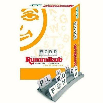 現貨【小辣椒正版益智遊戲】拉密英外出型簡易版英文字彙 Rummikub Word Cardboard 繁體中文版