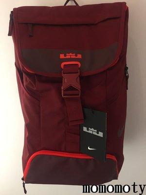 NIKE LEBRON MAX AIR AMBASSADOR 背包 酒紅 詹姆士 筆電 BA5111-677 請先問庫存