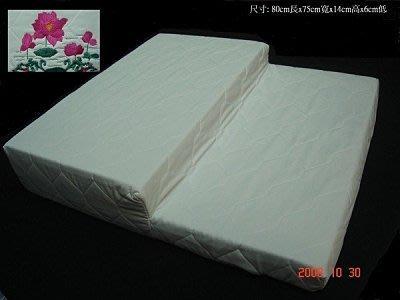 【AIC記憶床墊專賣店】階梯型多功能記憶墊【 打坐墊、靜坐墊、和室墊】耐壓性高適合長時間打坐用+高級竹炭針軋布套