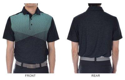 100%正品美國UNDER AMOUR PLAYOFF GRAPHIC HUE當季最新款高爾夫POLO衫黑