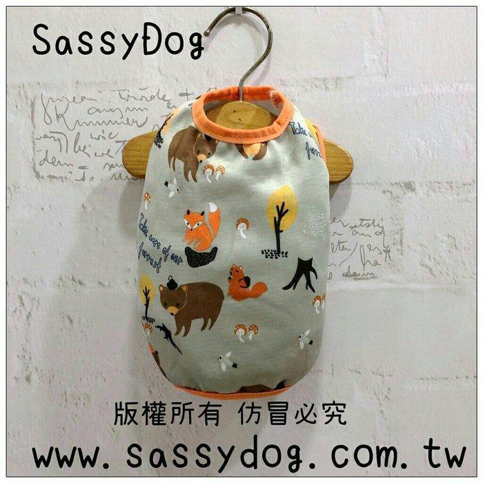 SassyDog 寵物服飾用品批發💥香菇熊保暖背心/保暖衣💥狗衣服批發