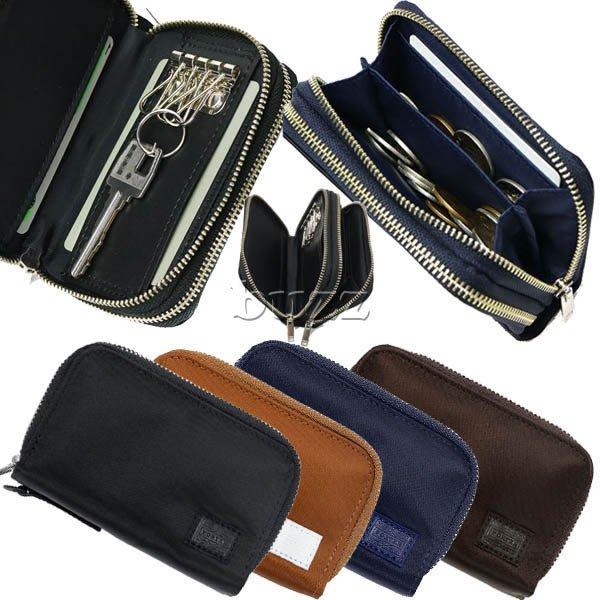 巴斯 日標PORTER屋- 四色預購 PORTER LIFT 零錢包&鑰匙包 雙層收納 822-16110