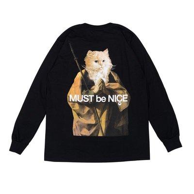【P+C】RIPNDIP Nermus Must Be Nice Long Sleeve 中指貓 僧人 長袖T恤 上衣