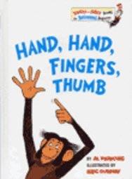 *小貝比的家*HAND, HAND, FINGERS, THUMB/ 精裝書 (蘇斯博士)/3-6歲