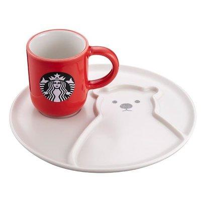 星巴克 北極熊杯盤組 Starbucks 2019/11/06上市 聖誕 禮物