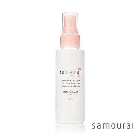 AsukA的衣物間~日本製Samourai白玫瑰修護髮毛燥髮油精油噴霧 (100ml)