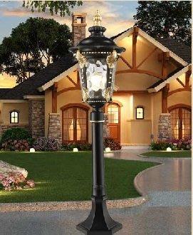草坪燈户外庭院燈防水花園燈led路燈别墅歐式草坪燈