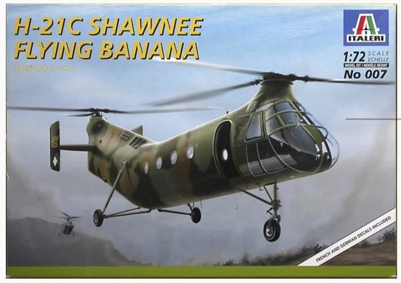 ITALERI 1/72 H-21C Shawnee Flying Banana 0007
