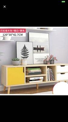歐式電視櫃(一門兩櫃)客廳家具套裝組合小戶型儲物櫃地櫃