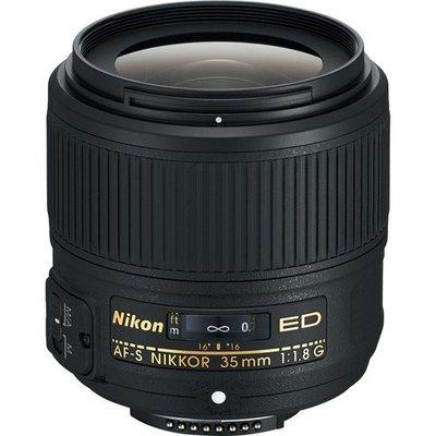 『FX格式』NIKON AF-S 35mm F1.8G ED ・NIKKOR 35mm F1.8 數位單眼 鏡頭•WW