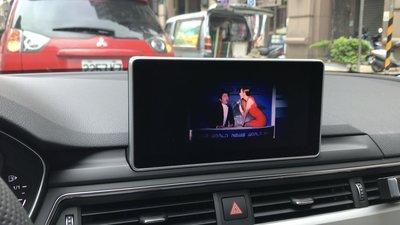 AUDI A4 B9 DVD解除速限.行駛中也可看