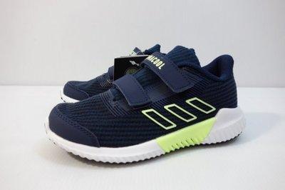 》P.S 》ADIDAS climacool 2.0 C 魔鬼氈 童鞋 學生鞋 休閒童鞋 深藍 透氣 F33997