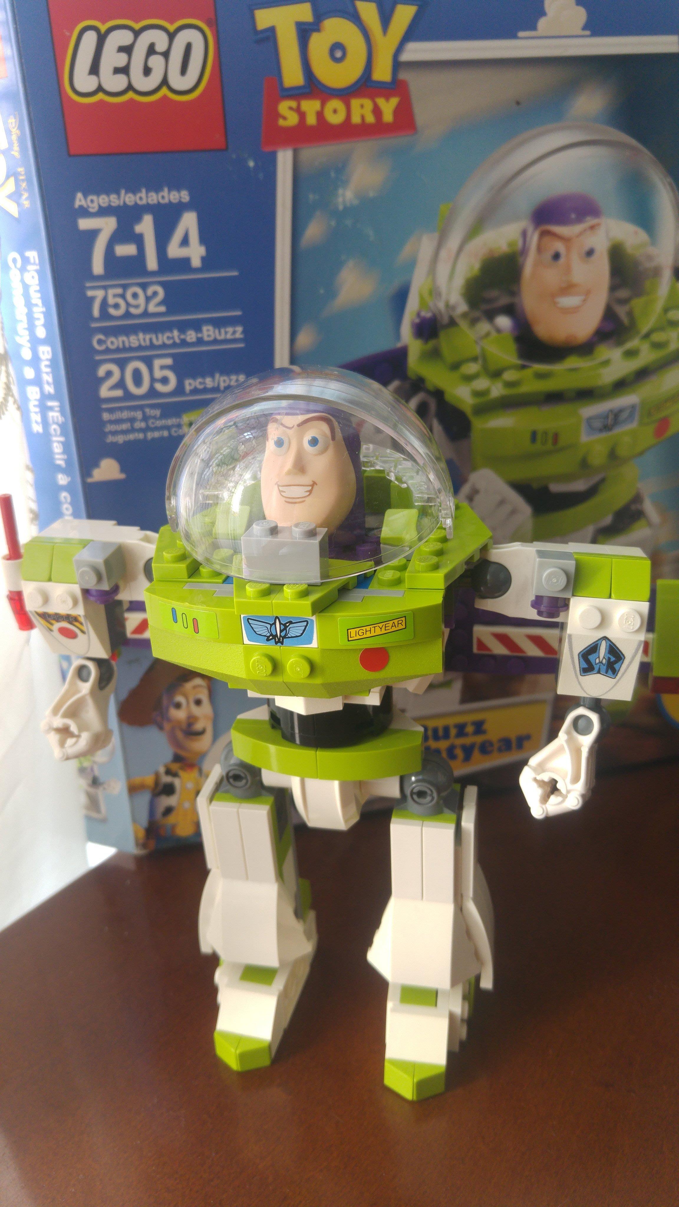 2010 絕版LEGO NO 7592 Construct-a-Buzz 巴斯光年