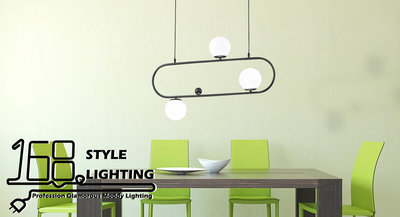【168 Lighting】光工廠《時尚吊燈》(兩款)3燈GD 20182-2