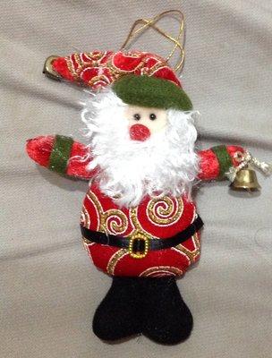 全新聖誕老公公吊飾