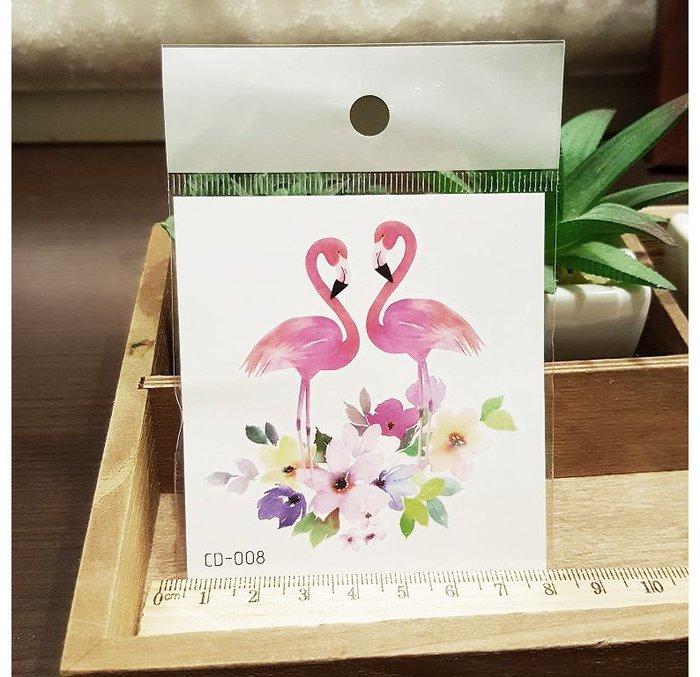 【萌古屋】火鶴CD-008 - 防水紋身貼紙刺青貼紙K12