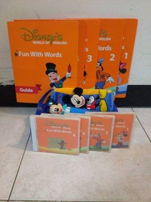 寰宇迪士尼美語 米奇趣味互動學習 米奇點讀筆  Fun with words 會說話 點讀系列 disney world