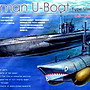 AFV Club 戰鷹 1/350 德國U-VII C41型潛艇 SE73504