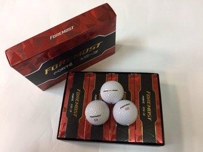 青松高爾夫 * FOREMOST XS-3 高爾夫球 $600元