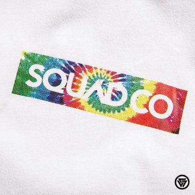 (MARVELOUS) SQUAD SQUAD S/S BOX LOGO 長版T-Shirt 渲染 黑色/白色