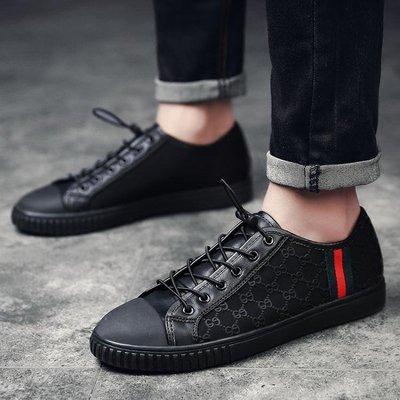 男鞋男士高筒板鞋新款休閒鞋【芳草居】