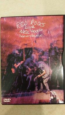 美版1區 Neil Young 尼爾楊 - Friends + Relatives Red Rocks Live