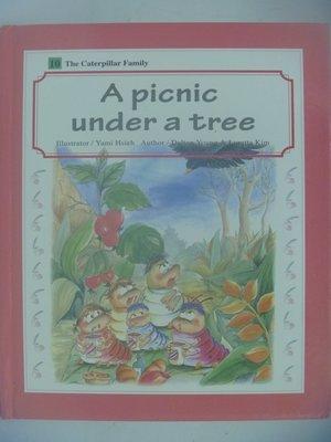 【月界二手書店】A picnic under a tree-Caterpillar Family-10〖少年童書〗AII