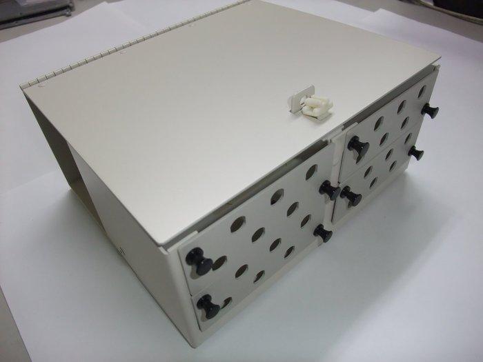 庫存未用AT&T原廠鋁製24Port壁掛式光纖終端箱