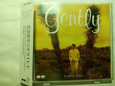 田原俊彥 Gently+側標 中譯歌詞+檔案小卡 台版波麗佳音CD