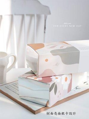 AM好時光【M315】莫蘭迪秋色 燙銀禮品包裝盒❤常溫蛋糕西點盒 鳳梨酥牛軋糖西點餅乾餐盒 囍餅蛋糕伴手禮品盒 手工皂盒