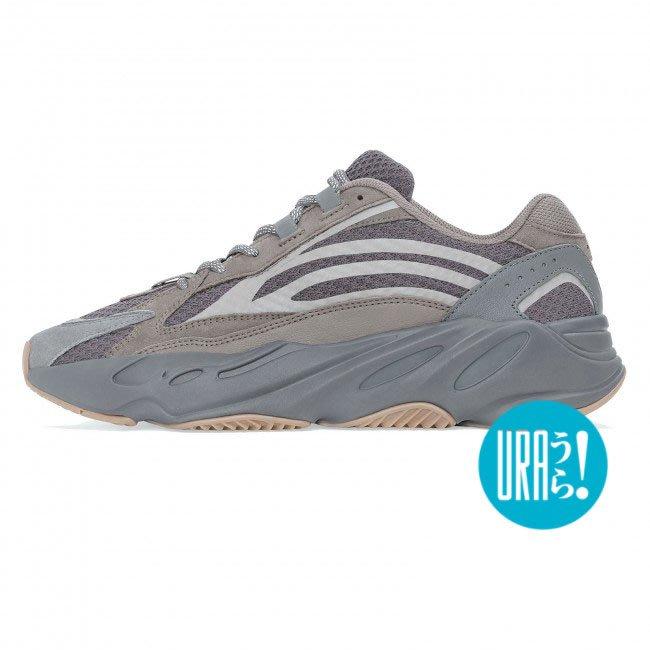 【URA 全新】Adidas Originals Yeezy Boost 700 V2 Geode 碳黑 3M 反光