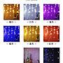 【台灣發貨】可串接冰條燈3.5米96顆LED串聖誕燈串 婚禮燈 窗簾燈 夜景裝飾節日星星彩燈 庭院造景燈氣氛燈 聖誕燈