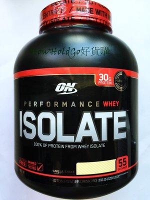 ON Whey Isolate 100%分離式 乳清蛋白零濃縮 香草 *1 效期:04/2022 PROTEIN