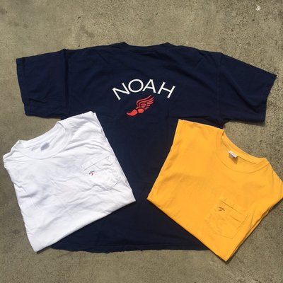 ☆LimeLight☆ Noah NYC Winged Foot Pocket Tee 諾亞 街頭 十字架 短T