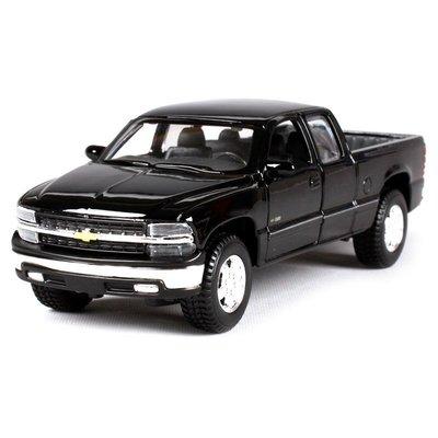 雪佛蘭 Chevrolet Silverado 皮卡 黑色 FF4431941 1:24 合金車 預購 阿米格Amigo