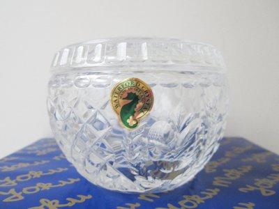 【WATERFORD CRYSTAL】2001年紐約時代廣場水晶球限定版 水晶缽 收納盒 限量版 保證正品 愛爾蘭製造