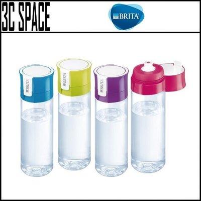 [3C SPACE] 德國 BRITA Fill&Go 隨身濾水瓶 600ml 含濾芯一片+專屬提帶