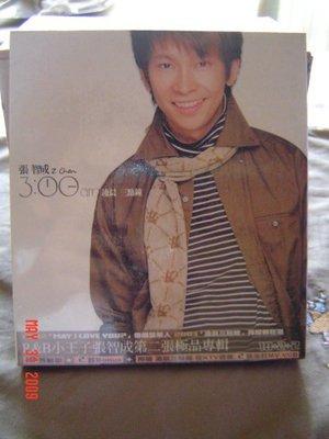 張智成  第二張個人全新專輯  零晨三點鐘CD+VCD (全新)未拆封   特價:800元