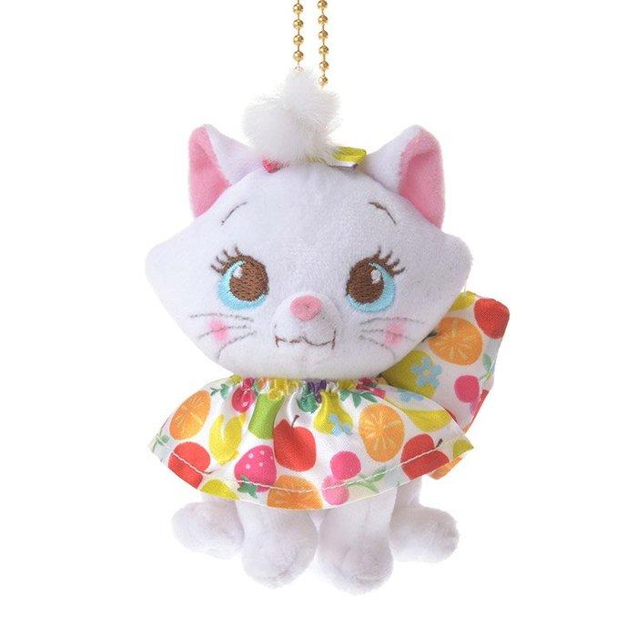 *B' Little World * [現貨]東京迪士尼專賣店限定/瑪莉貓水果領巾吊飾/貓兒歷險記/東京連線