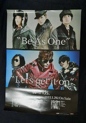 【影音新天地】《日本偶像天團 W-inds 》海報《106》.....