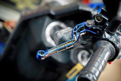 Hz二輪精品 EPIC 燒鈦 煞車拉桿 鍍鈦 彩鈦 剎車拉桿 簍空造型 OZ 125 OZS ES 150 單碟 雙碟