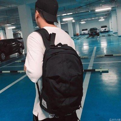 休閒帆布雙肩包韓版男士學院風書包旅行包情侶包潮包   全館免運